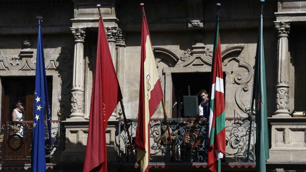 Rechazada la propuesta de UPN para que no se coloque la ikurriña en San Fermín