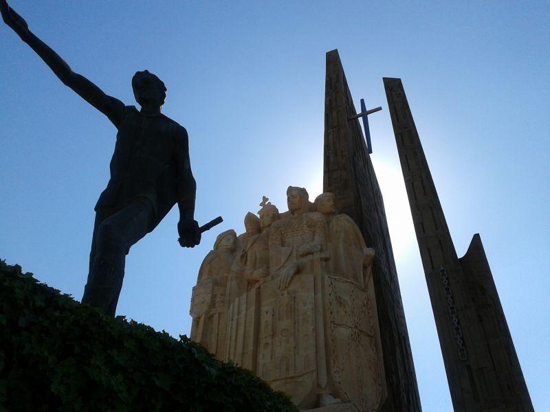 Navas de Tolosa Monumento en 1902