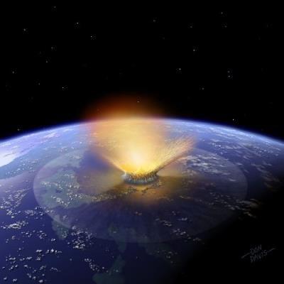 Un meteorito podría ser la causa del calentamiento de hace 55 millones años