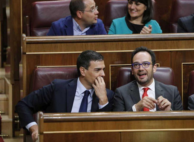 El PSOE cree que los nacionalistas