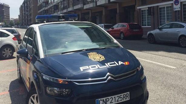 La policía registra dos naves en Landaben en operación de Agencia Tributaria