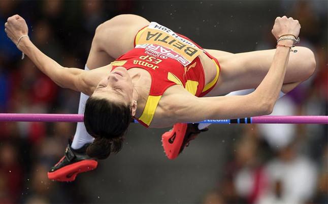 La campeona olímpica Ruth Beitia, anuncia su retirada