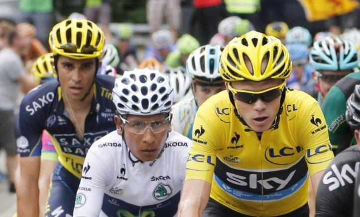 Froome, Quintana y Contador, tres tenores en lucha por