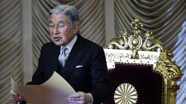El emperador nipón Akihito tiene previsto abdicar