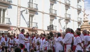 jota procesion de 7 de julio San fermin 2016