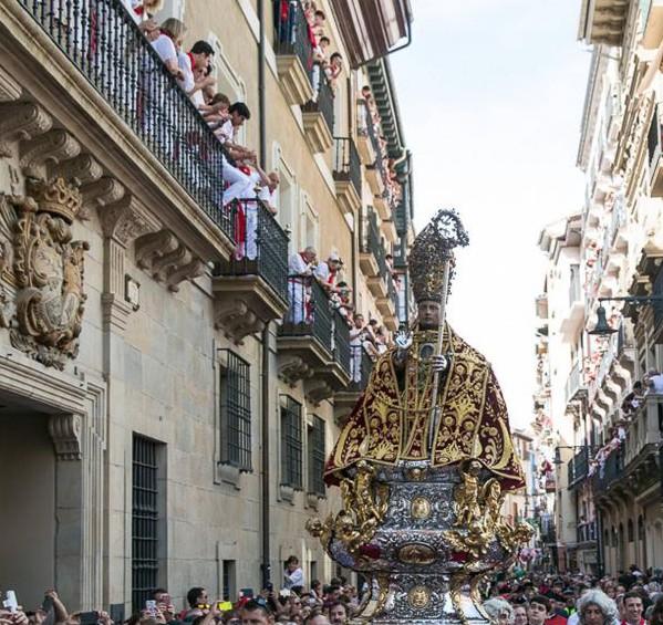 Día Grande de San Femín 2016 con la multitudinaria Procesión del Ayuntamiento a la Catedral