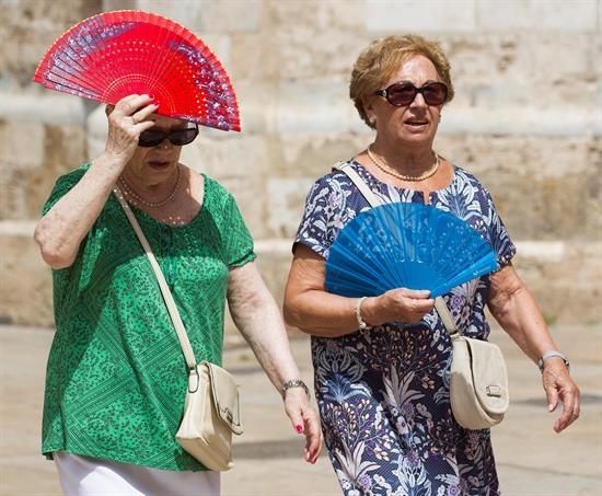 Alerta naranja en Badajoz y Cádiz, y amarilla en otras 12 provincias
