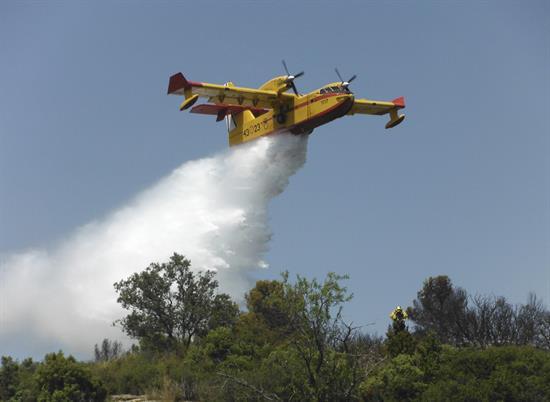 El incendio de Jerte, que se ha reactivado por el viento, ha sido provocado