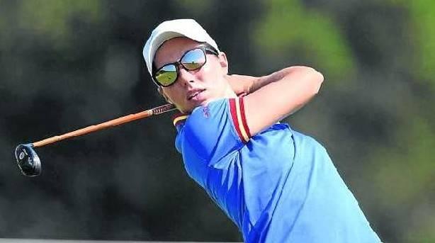 La golfista navarra Carlota Ciganda acaba su participación en Río con +6