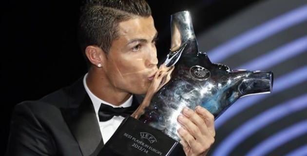 Cristiano Ronaldo, mejor delantero