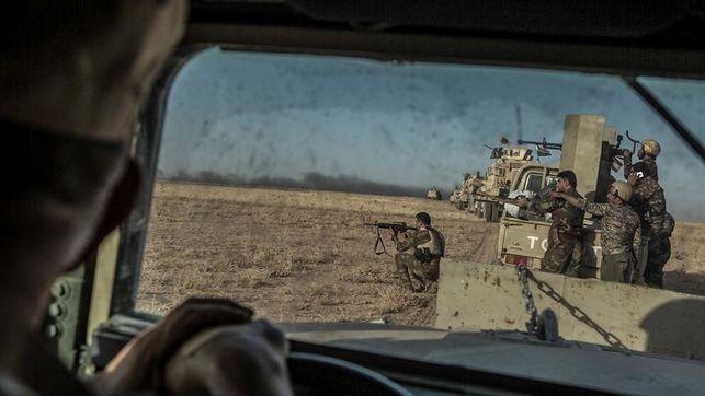 Las fuerzas iraquíes renuevan su ofensiva para arrebatar a EI la ciudad de Mosul