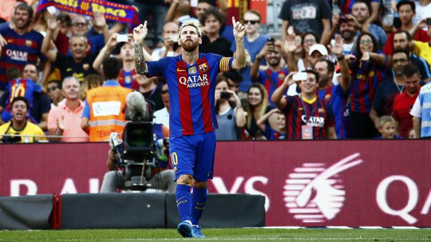 6-2. Messi y Luis Suárez se divierten a costa del Betis