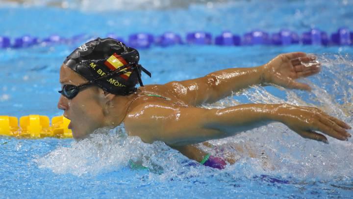 Belmonte completa la triple corona con su oro mundial en 200 mariposa