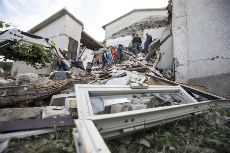 Nuevas réplicas de hasta 4 de magnitud Richter en el centro de Italia