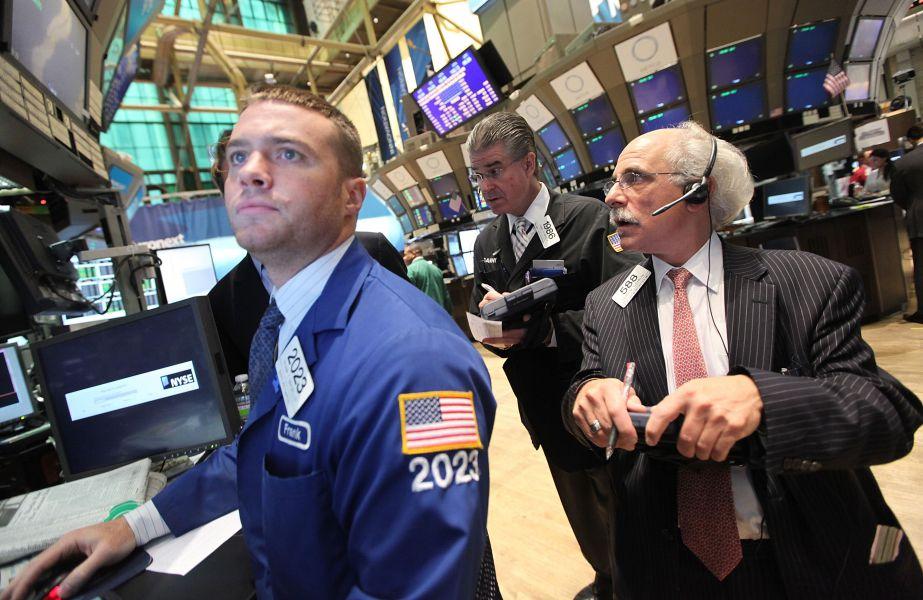 Wall Street cierra a la baja y el Dow Jones logra su séptimo récord consecutivo