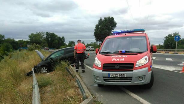 Desciende el número de víctimas de accidentes de tráfico en Navarra