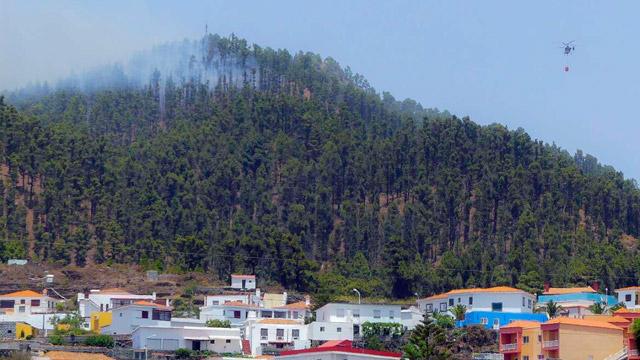 Estabilizado el incendio de La Palma en todos sus frentes