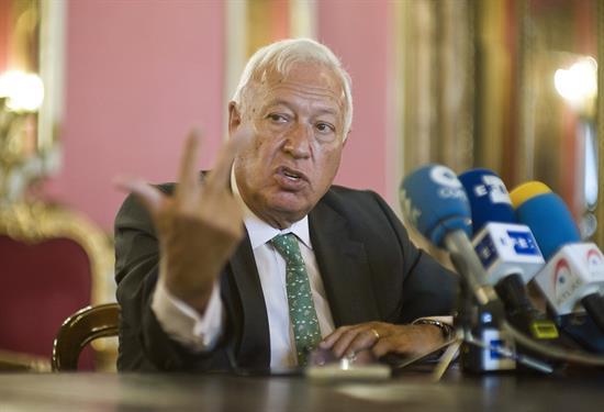Margallo: Un ataque terrorista se supera, la disolución de España es irreversible