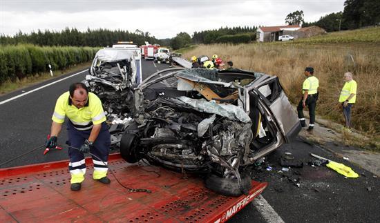Un joven conductor en sentido contrario provoca un accidente con dos muertos
