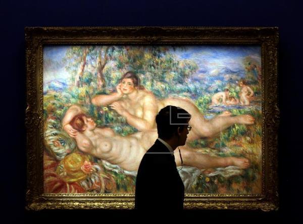 La Fundación Mapfre expone en Barcelona 70 obras del francés Renoir