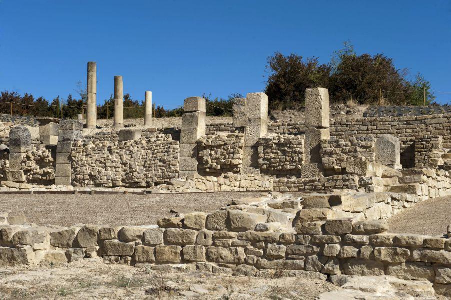 Santa Criz desvela los secretos de la vida de una ciudad romana en Navarra entre los siglos I y V