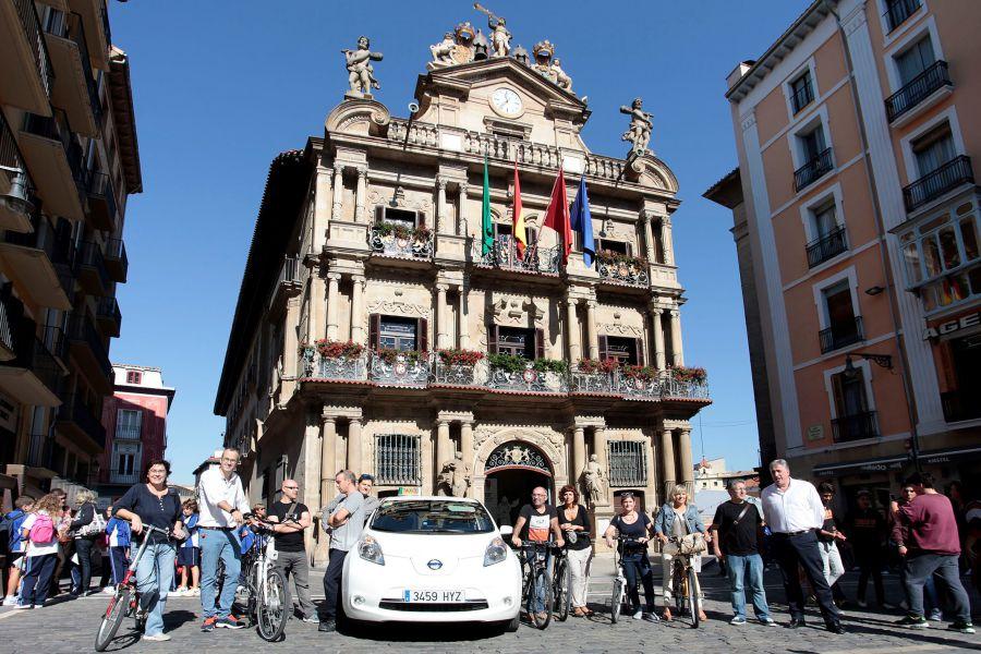 Pamplona se une a la semana europea de la movilidad