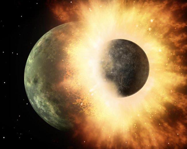 El carbono de la Tierra podría haber surgido tras una colisión con un planeta