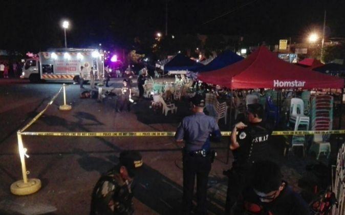 Al menos 14 muertos y 67 heridos en una explosión en el sureste de Filipinas