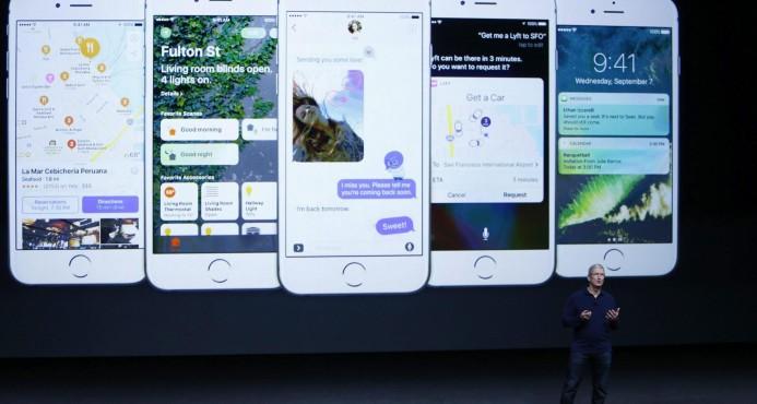 Apple presenta el iPhone 7, resistente al agua y sin entrada de audio