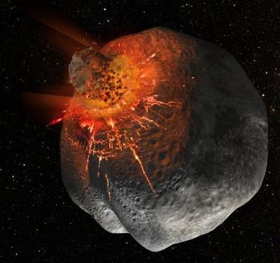 La ESA cree que un meteorito ha modificado el campo magnético terrestre