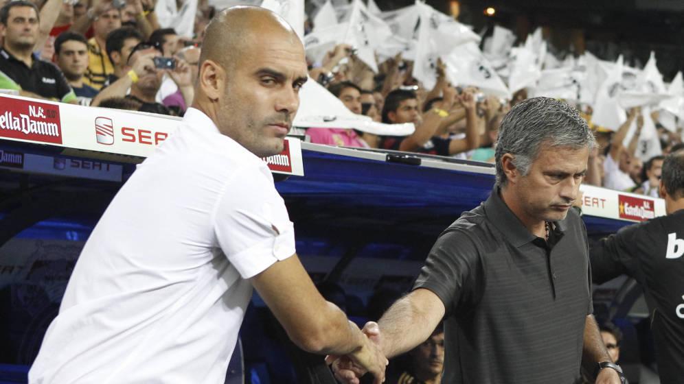 Guardiola y Mourinho centran la atención del derbi de Manchester