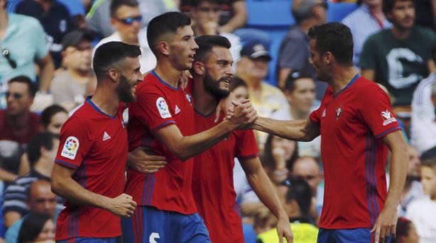 Osasuna a dar la campanada en el Bernabéu