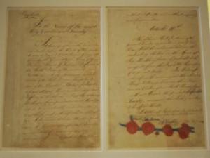 Firmas del Tratado de París. Twitter historia
