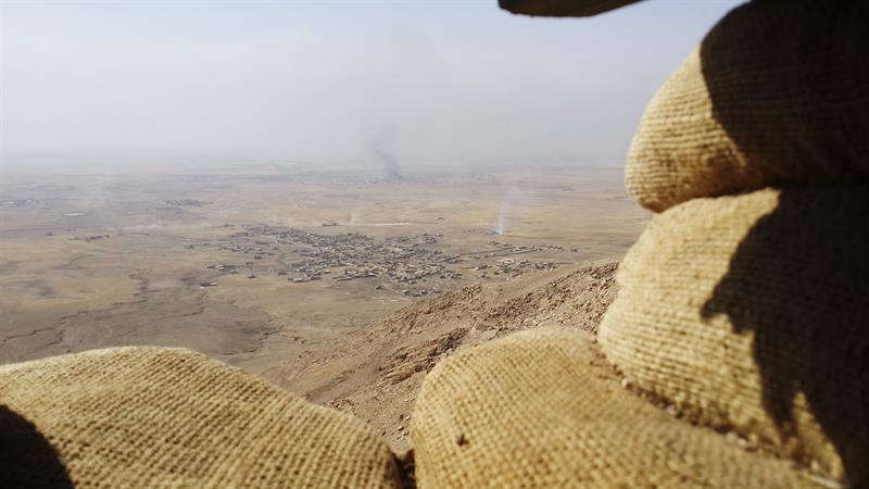 Las fuerzas iraquíes liberan el 80 por ciento de Al Hamdaniya, cerca de Mosul