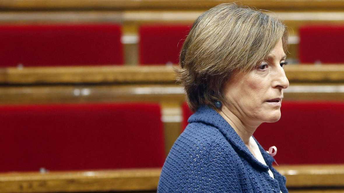 Forcadell: Rajoy ha traspasado todos los límites con golpe de Estado de facto