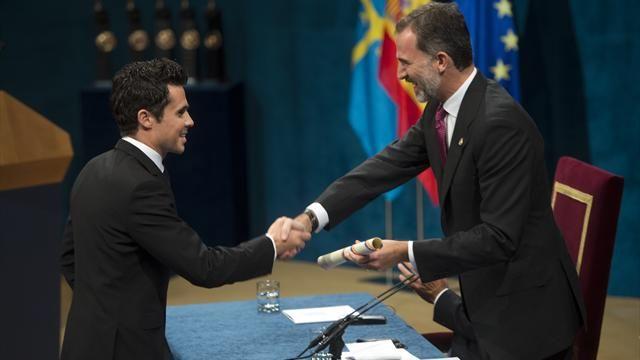 Javier Gómez Noya recibe el Premio Princesa de Asturias de los Deportes