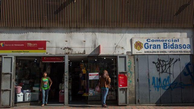 Seguimiento parcial en Caracas del paro general convocado por la oposición