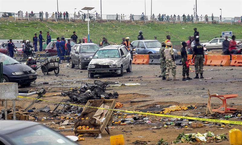 Al menos 8 muertos y 15 heridos por un coche bomba en el noreste de Nigeria