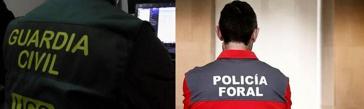 El Sindicato de Policía Foral (SPF) y la Asociación Unificada de Guardias Civiles (AUGC Navarra) condenan la agresión