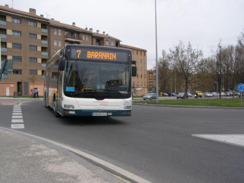 Incidencia mínima en el paro de los trabajadores de la TCC de Pamplona