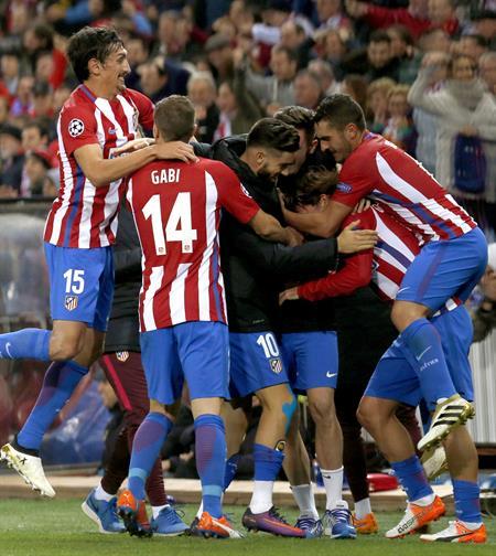 1-0. El Atlético prolonga su racha ante la Real Sociedad