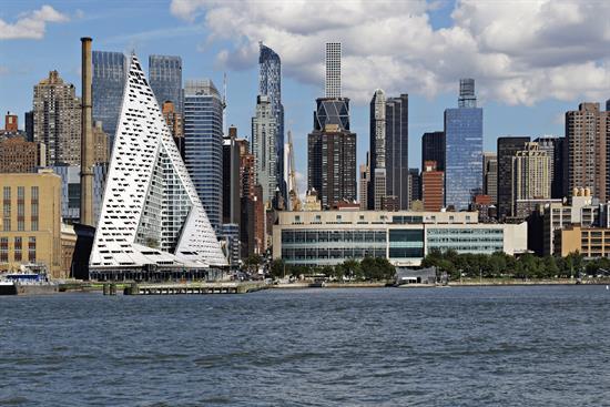 El edificio de Bjarke Ingels en Nueva York, Premio Internacional de Rascacielos