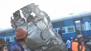Accidente tren india
