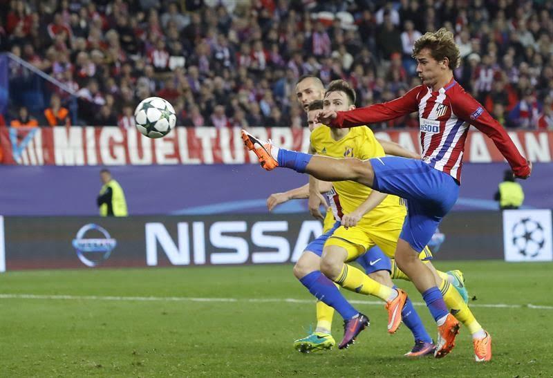 Atlético, Bayern, Arsenal y PSG adelantan su presencia en octavos