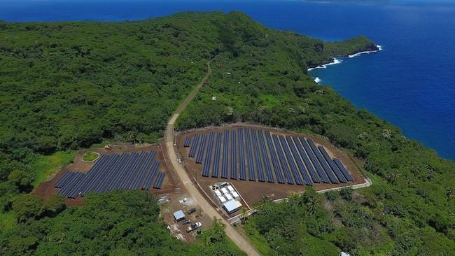 Ta'u: la isla que se abastece completamente de energía solar