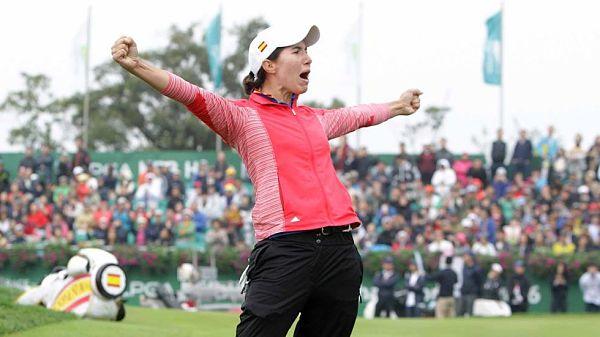 Carlota Ciganda gana en México su segundo título del LPGA Tour 2016