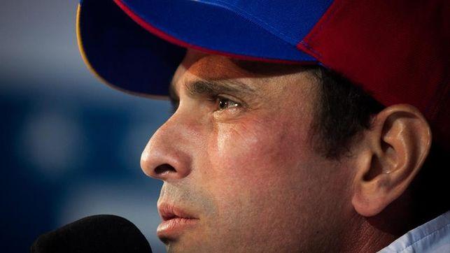 Capriles llama a retomar las manifestaciones contra Maduro en toda Venezuela