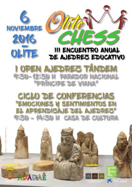 III Encuentro Anual de Ajedrez Educativo se viste de medieval en Olite (Navarra)