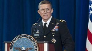 El teniente general retirado Michael Flynn,