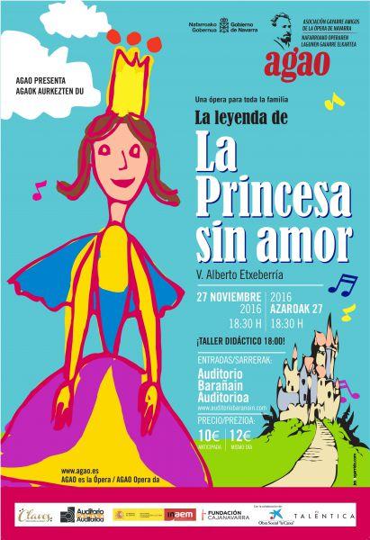 AGENDA: 27 de noviembre, en Auditorio Barañain, ópera infantil con AGAO